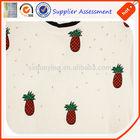 wholesale printing pineapple print fabric