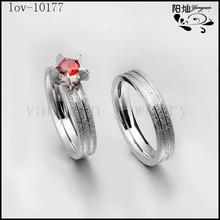 wholesale pair set engagement fale and female diamond wedding rings