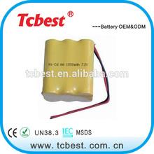 Super potere per aa ni-cd 700mah 7,2v batterie batterie al nichel cadmio prezzo