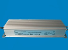 High quality CE RoHS approved 80w waterproof electronic led driver, 24 volt dc transformer for led lights