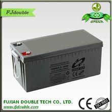 high capacity gel ups 12v 200ah battery weight