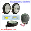 "HID058 7"" 35W hid work light for vechile 4x4 waterproof IP68 one year warranty"