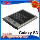 China 2100mAh cheap mobile phone batteries for Samsung i9300