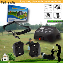 Waterproof Smart Electric Outdoor Dog Fence with Shock Training Collars