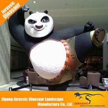 Theme Park Attraction Lifelike panda statue