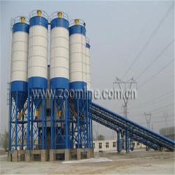 electric concrete mixer plant