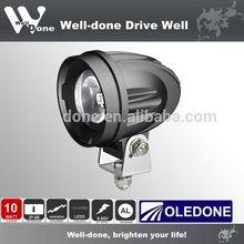 Oledone10W 4x4 led work light /off road led work light ,motorcycle led driving lights