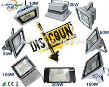 led flood light 10w 20w 30w 50w 100w 150w 200w ip65 best choice for outdoor lighting