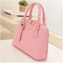 2014 women pu leather candy color ladies custom tote bag,designs fashion bag handbag leather bag