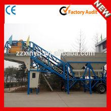YHZS35 China manufacture precast 35m3/h mobile concrete batching plant