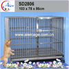 professional manufacturer pet crate folded iron dog crate cage kennel