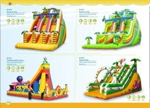IC Best made PVC Material and Castle Type inflatable bungee trampolin