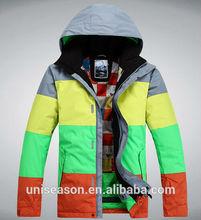 Uniseason snow jacket waterproof breathable ski sport wear