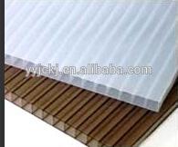10 ten years quarantee high quality PC hollow sheet for greenhouse