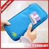Fashion popular blue Zipper Travel Document Wallet