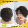 Best quality grade 6A mongolian hair full lace afro wig for african americans