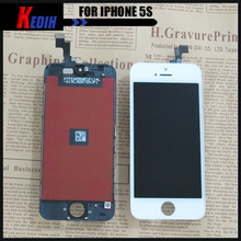 100% Guarantee Repair parts for iPhone 5S Cover LCD Display and Touch Screen Full Kits