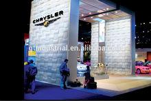 Stylish pvc plastic foam board latest designs 3d plastic board for construction for exhibition