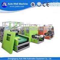 semi automatic aluminum foil rewinding and cutting machine