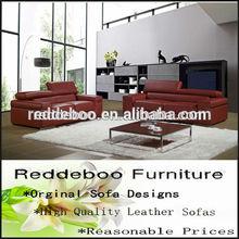 elegant french modern red love seat sofa 8109