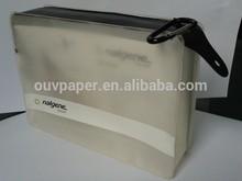 Alibaba Custom pvc mesh bag with zipper