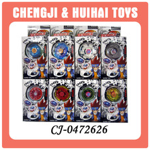 Hot plastic mini beyblade play spinning top wholesale toy