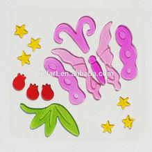 spiderman wall sticker jelly windows stickers Normal Gel Clings sticker watch