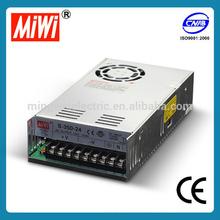 MIWI S-350-12 350W 12vdc 29a 30a led transformer