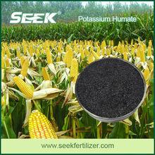 organic potassium humate, organic fertilizer potassium humate flake, fulvic acid
