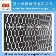 Aluminum hexagonal expanded mesh
