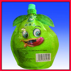 custom printing juice drink spout pouch bag