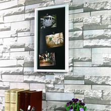 Chinese Manufacturer AOX-N1348 5 Metal Clips PS Plastic Photo Frame wall decoration pictures fruits