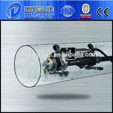 QGN the steel pipe inner surface shot blasting machine/airless shot blasting cleaning equipment/washing and clean sand machine