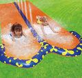 divertido inflable de pvc de agua de velocidad de diapositivas