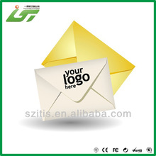 recyclable colorful printed paper envelope best price hot selling