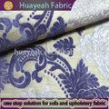 100% poliéster novo design padrão de flor de chenille sofá de tecido
