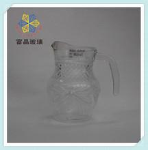 antique imitation flowers glass water pot