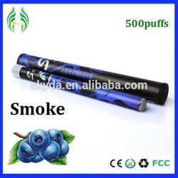 Disposable e shisha hookah pen fruit taste e-cig shisha pen 500 puffs