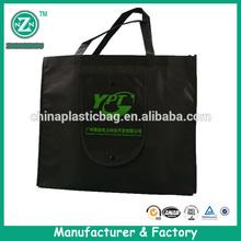 Rope handle patterned nonwoven shoulder shopper bag