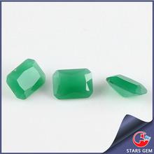 6x8mm Rectangle Quartz Malaysian Jade