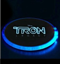 led cup mat for party