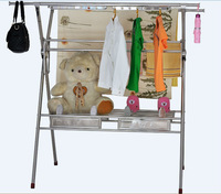 Multi-function Large Clothes Drying Rack Stand Foldable and Rigid