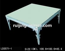 copper top coffee table mirror furniture