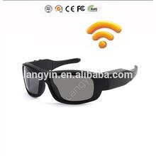 2014 Smart wifi sunglasses hd 1080p mini wireless camera dvr