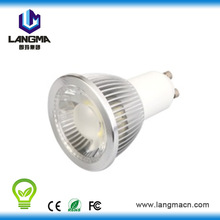 gu10 base type cob dimmable low price popular led 5w spotlight