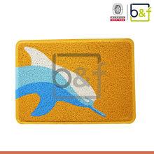 Multicolor dolphin indoor/outdoor used durable unique hotel carpet