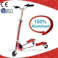 Full aluminum flicker push scooter for adult