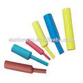 Mecánica, resistente a la abrasión con aislamiento de poliolefina de pared medio de calor tubo retráctil