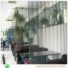 Cheap decorative metal chain curtain for restaurant divider