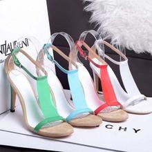 SC1114 elegant women dance shoes european style court shoes genuine leather shoes sequins sandals manufacturer sexy sandals